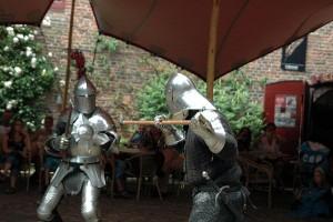 Riddergevecht in het Muiderslot