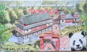 Pandasia in Ouwehands Zoo