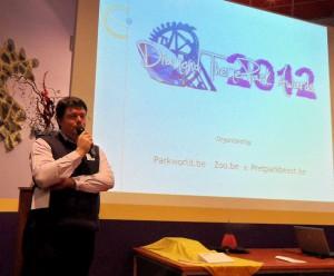 organisator Patrick Joossens (Parkworld.be)
