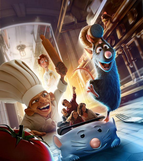 Walt Disney Animation Studios Wallpaper Attractie Ratatouille ...