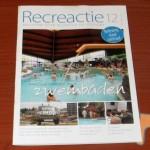 Beleving in zwembaden centraal in Recreactie