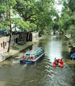 Rondvaart in Utrecht