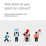 Wie doen er aan sport en cultuur?