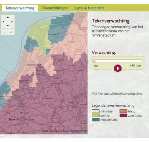 Tekenverwachting tekenradar.nl op 11 maart 2014