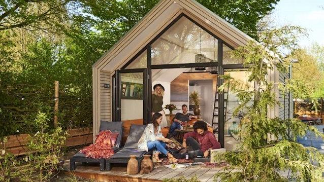 Tiny houses passen in de recreatie en hotellerie pretwerk for Verplaatsbaar huis