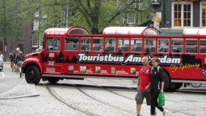 tourist bus amsterdam