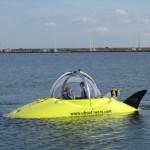 Noviteiten: mini onderzeeer en verhuurconcept tent-kampeerauto