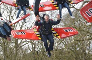 Nieuwe attractie Wild WIngs in Duinrell