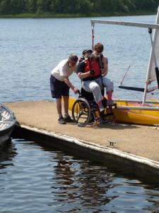 zeilen met een handicap